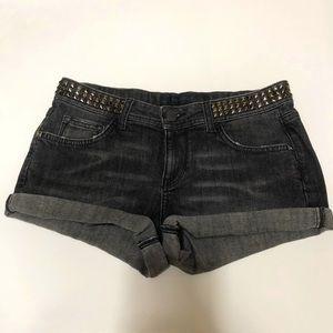 Zara Woman Denim Shorts Black Size 4